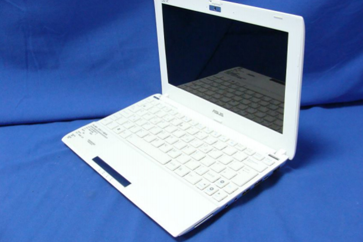 Using the Asus Eee PC