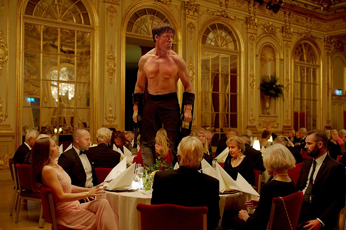 Terry Notary in 'The Square'