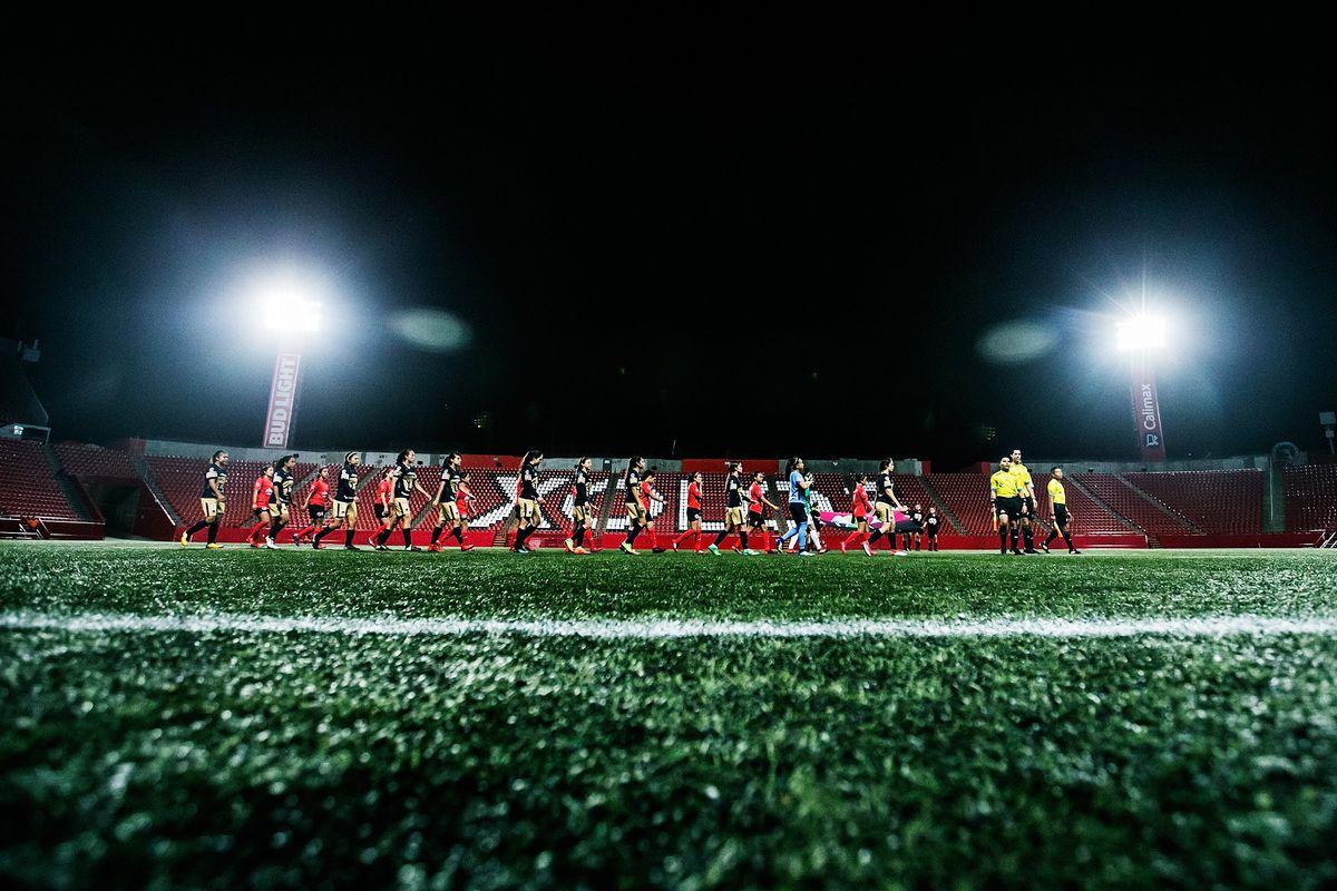 Xolos Femenil share Estadio Caliente with the men's teams.