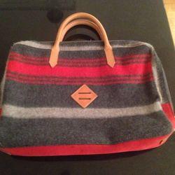 Wool briefcase, $75