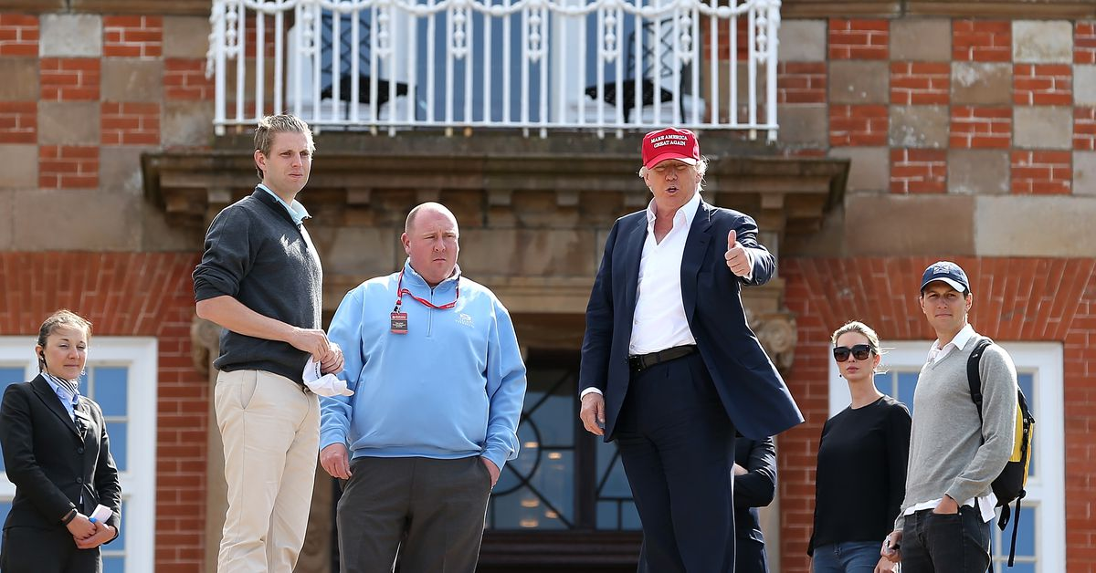 The Air Force spent more at Trump's Scottish resort than originally thought