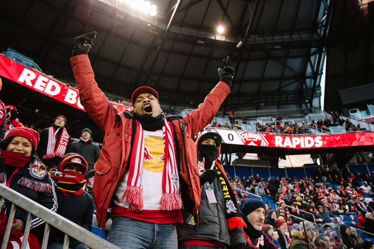 Fans at Red Bull Arena; March 11, 2017