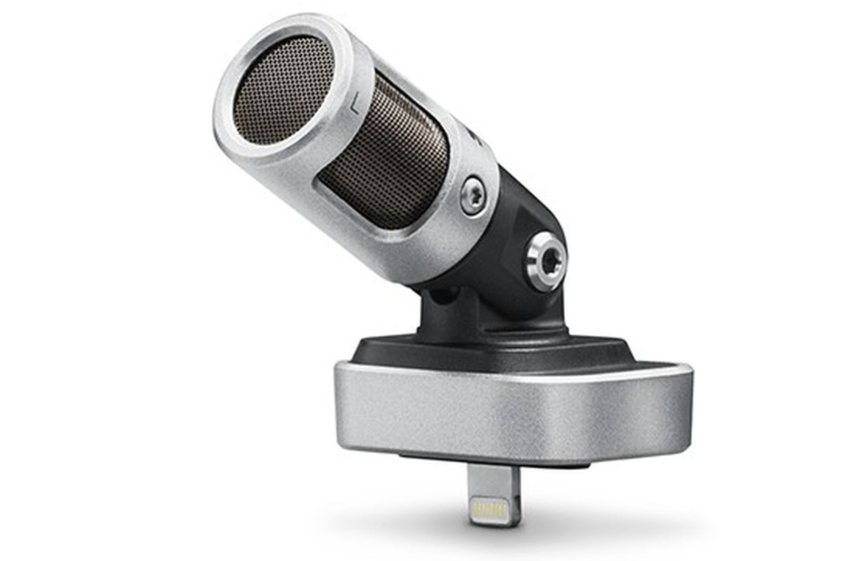 shure 39 s mv88 gives your iphone better ears the verge. Black Bedroom Furniture Sets. Home Design Ideas