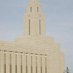 South Jordan police investigate a fatal shooting outside  the LDS Oquirrh Mountain Utah Temple on Saturday.