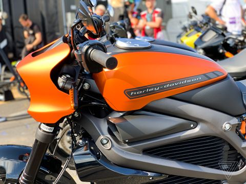 Harley-Davidson's LiveWire is more electric motorcycle than