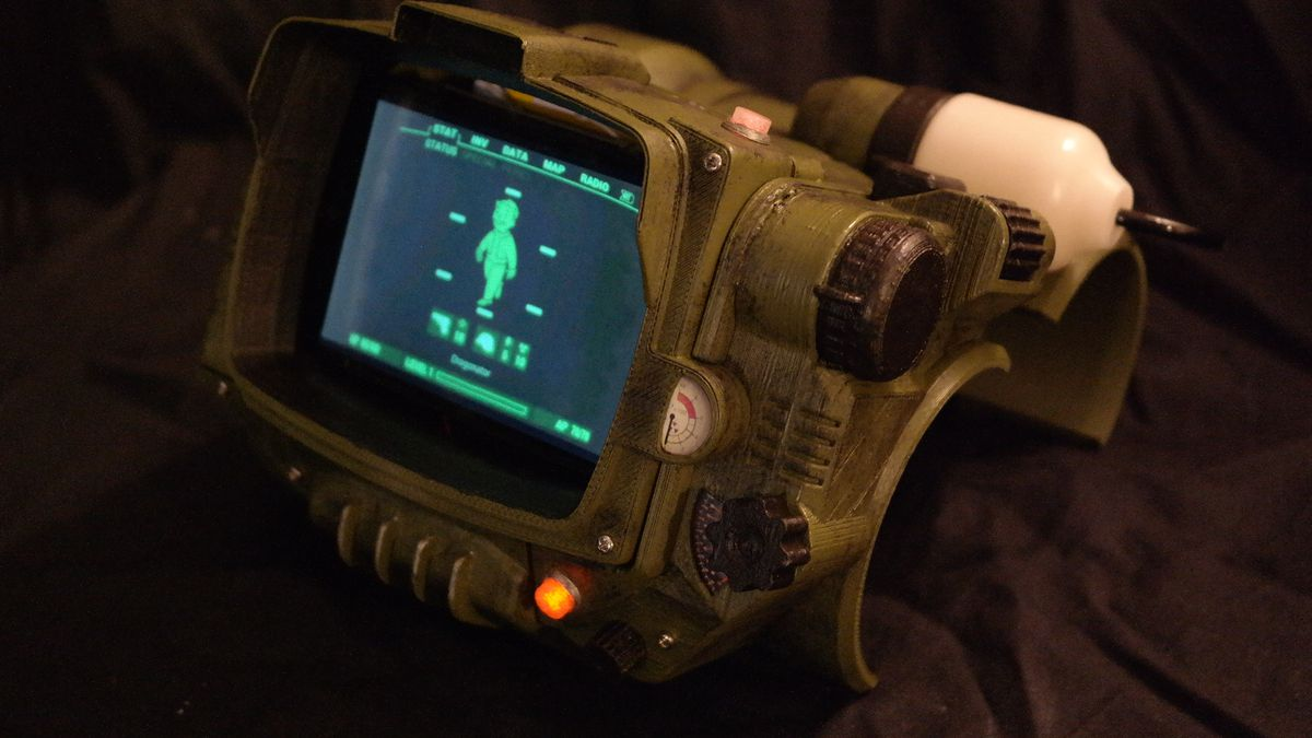 forget about the fallout 4 pip boy edition and 3d print your own