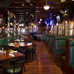 The dining room at Carlos'n Charlie's.
