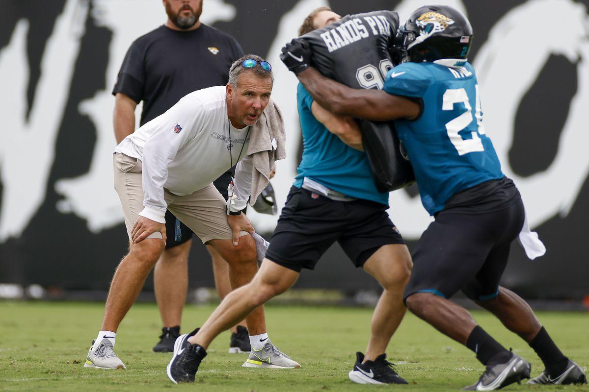 NFL: AUG 04 Jacksonville Jaguars Training Camp
