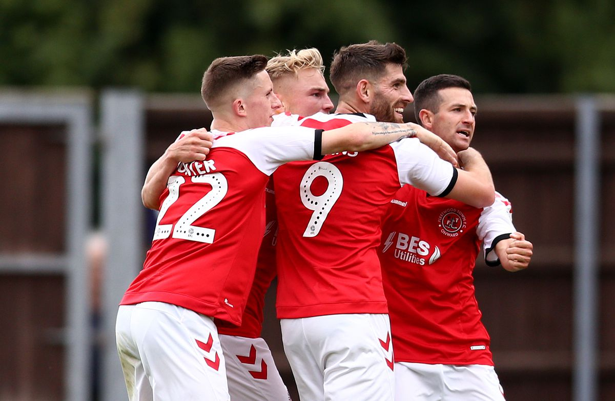 Oxford United v Fleetwood Town - Sky Bet League One