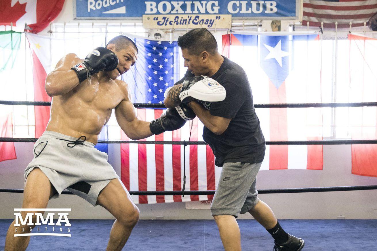 Training Day: Aaron Pico