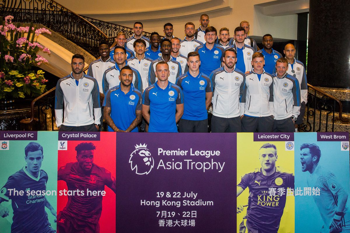 Premier League Asia Trophy Hotel Arrivals