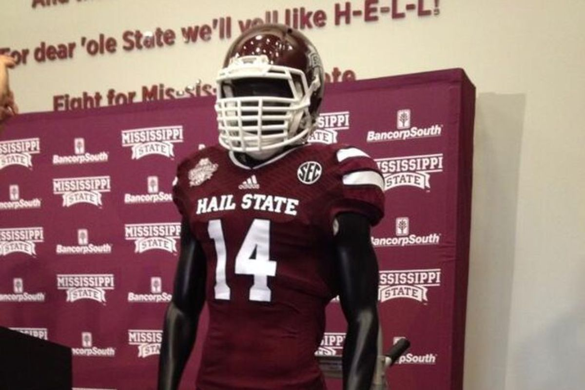 MSU will be wearing these uniforms on Saturday no more