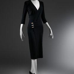 """The """"Taxi"""" dress, circa 1932."""