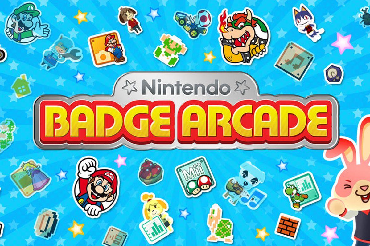 badge arcade logo