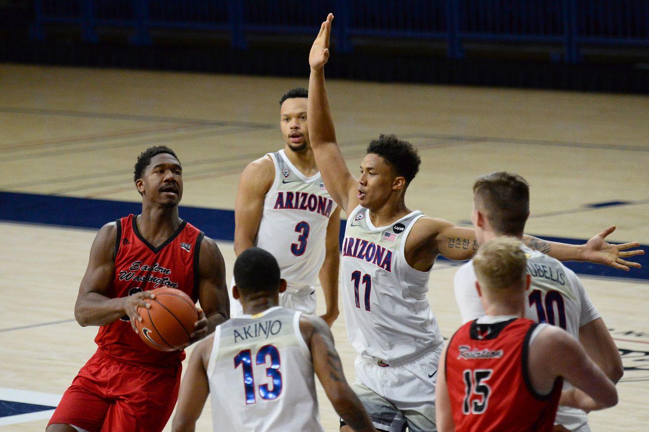 kim-aiken-arizona-wildcats-transfer-eastern-washington-eagles-basketball-depth-chart-scholarships