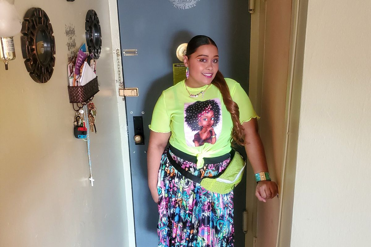 NYCHA resident Katherine Luciano applied for a rent reduction after losing her job during the coronavirus outbreak.