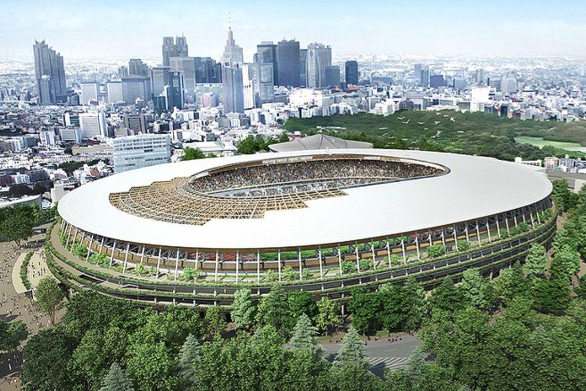 tokyo 2020 olympics stadium design
