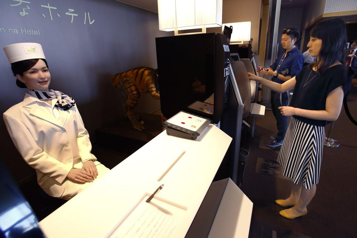 Robot Run Japanese Hotel Plans World Dominance With 100 New