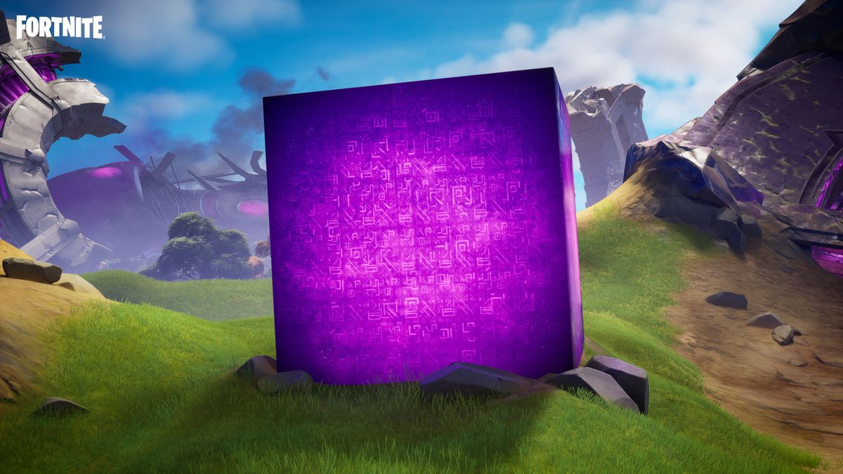 A smaller version of the Cubes from Fortnite