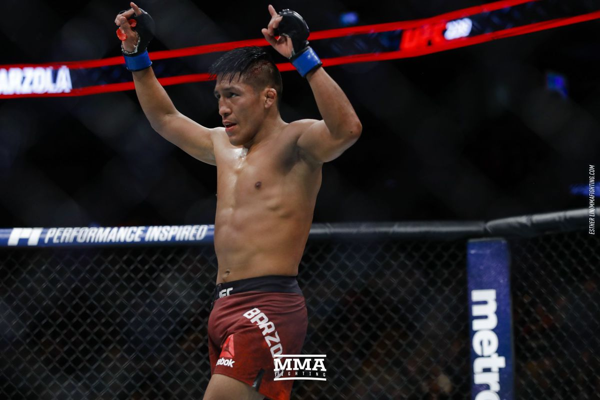 Enrique Barzola talks living at American Top Team ahead of UFC Chile