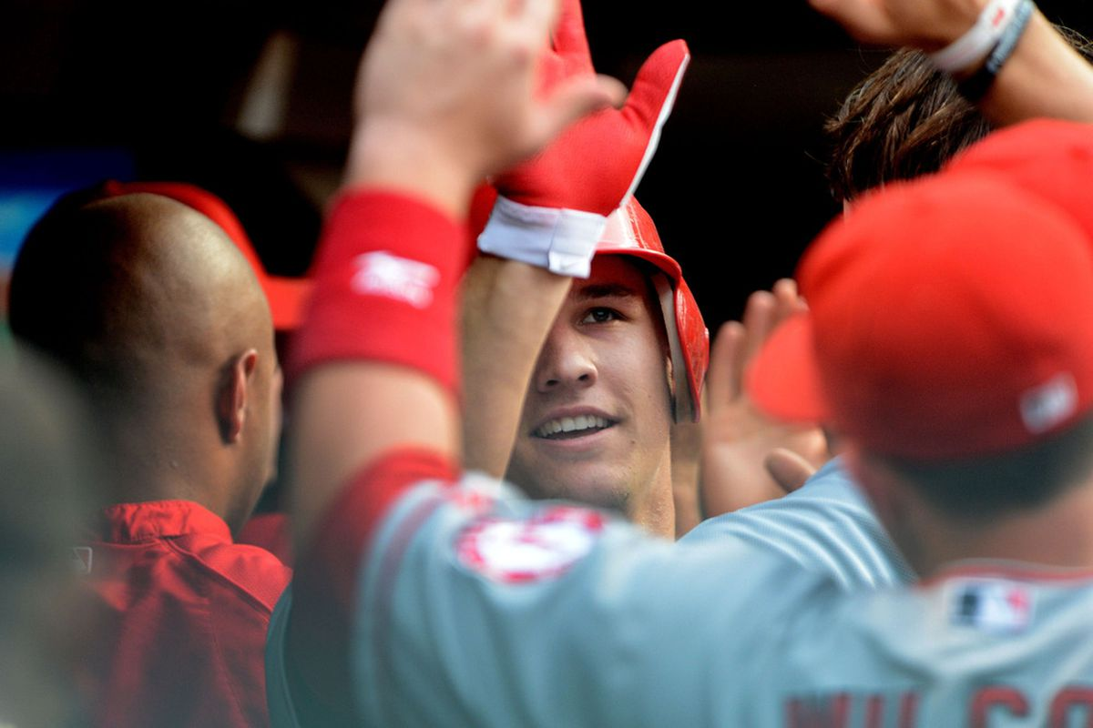 We are all Mike Trout.