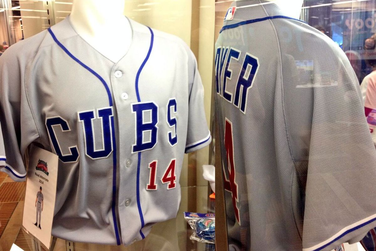 superior quality e5f87 a4d95 Cubs Unveil 2014 Alternate Jerseys - Bleed Cubbie Blue