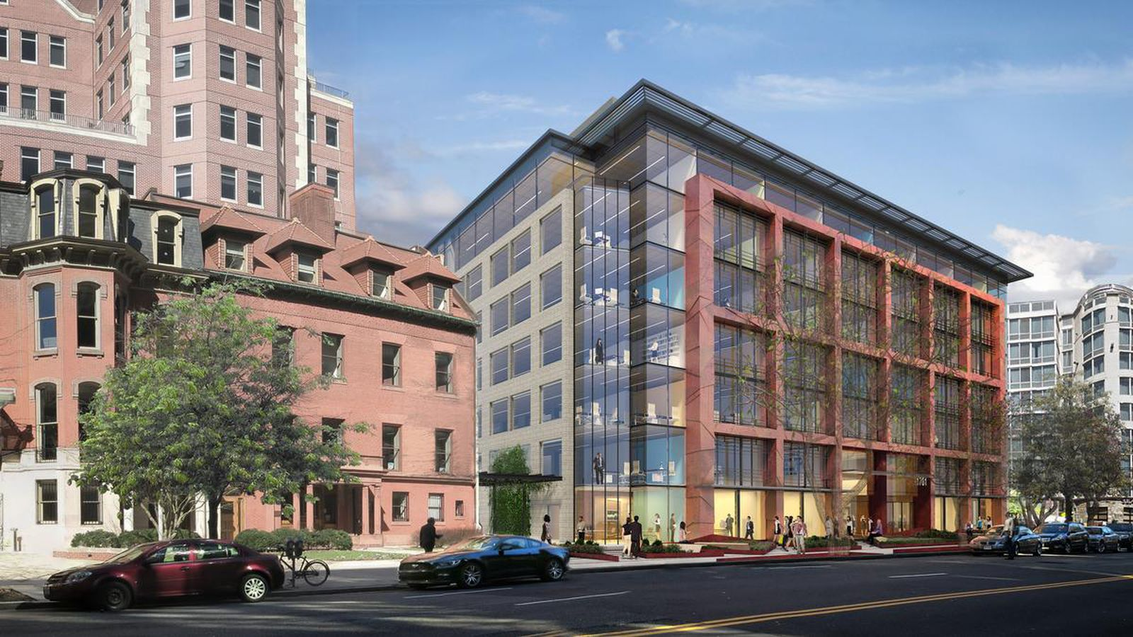 Dupont Circle Groundbreaking Begins For Ymca Office