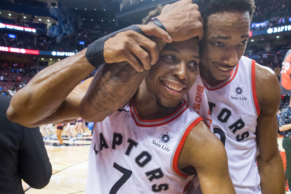 6acb3d40d NBA All-Star 2018  Kyle Lowry and DeMar DeRozan will play together on Team  Steph