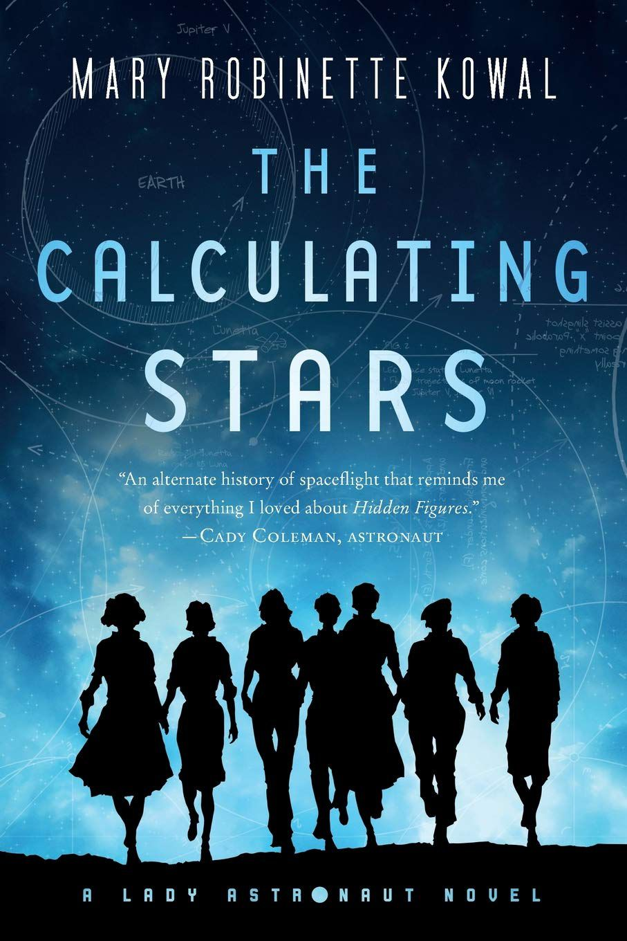 The Calculating Stars by Mary Robinette Kowal  cover