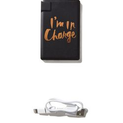 A mobile charger with a cheeky message will keep mom's phone—and confidence—fully juiced.