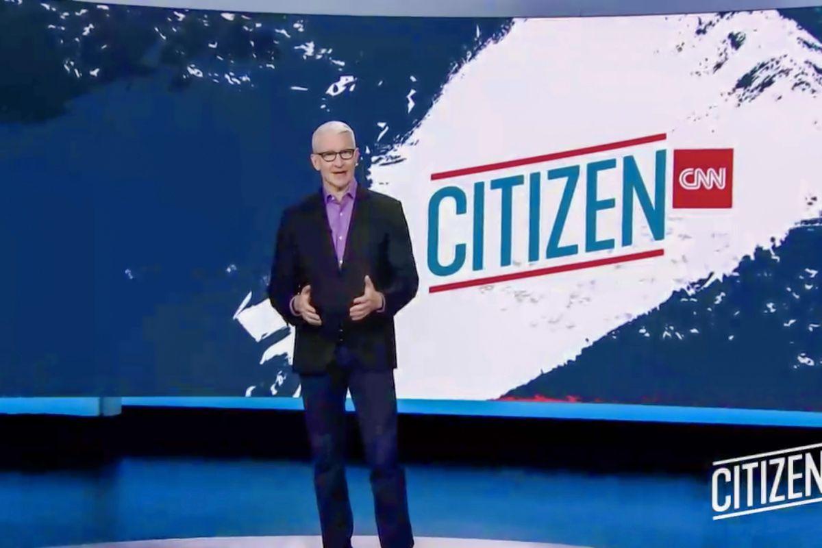 Anderson Cooper speaks on CNN on September 22, 2020.