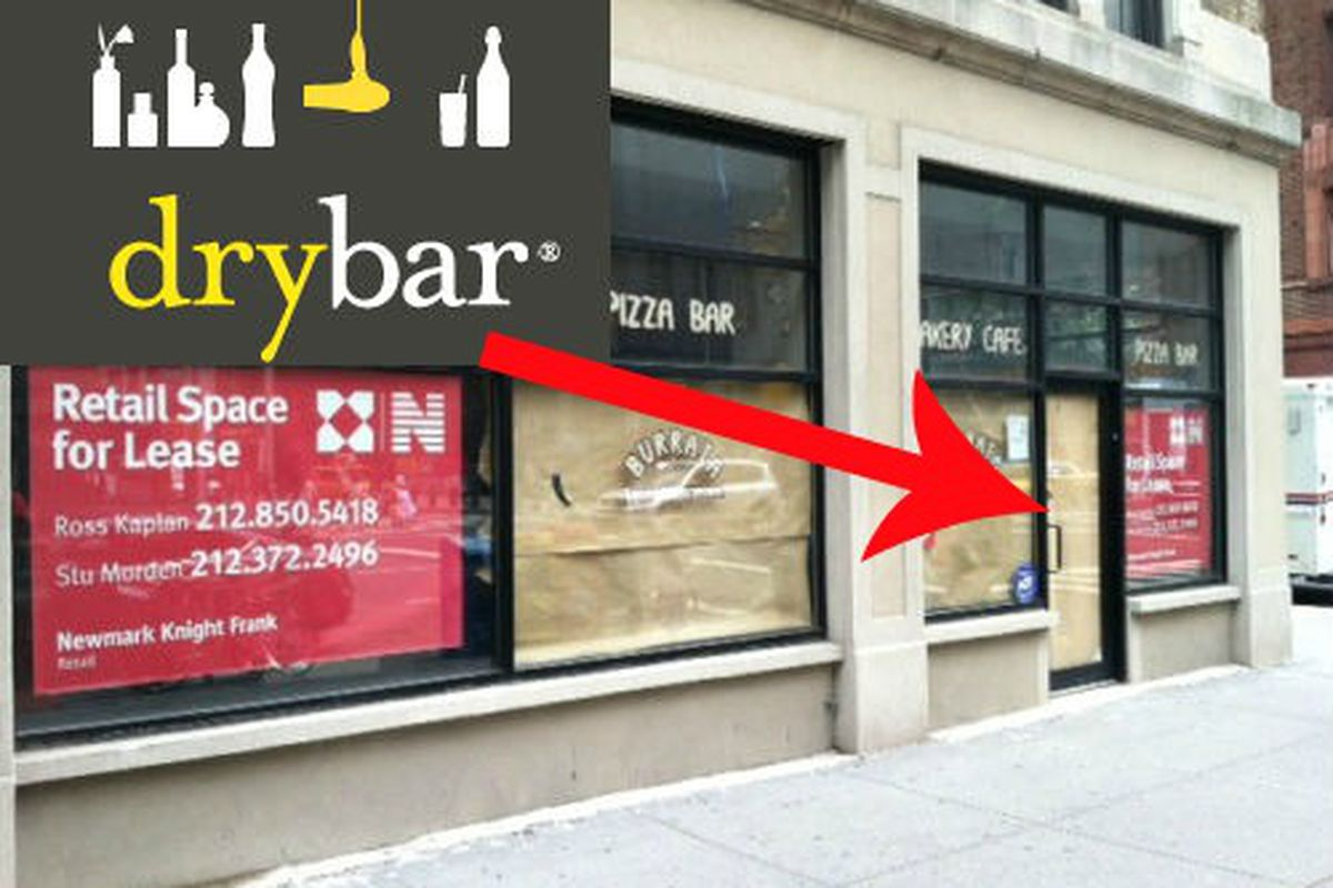 """Storefront image via <a href=""""http://www.westsiderag.com/2012/07/09/blowdry-only-salon-coming-to-long-vacant-amsterdam-avenue-spot"""">West Side Rag</a>"""