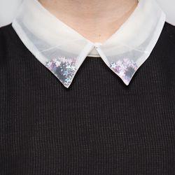 SO INTL Starlet blouse, $57