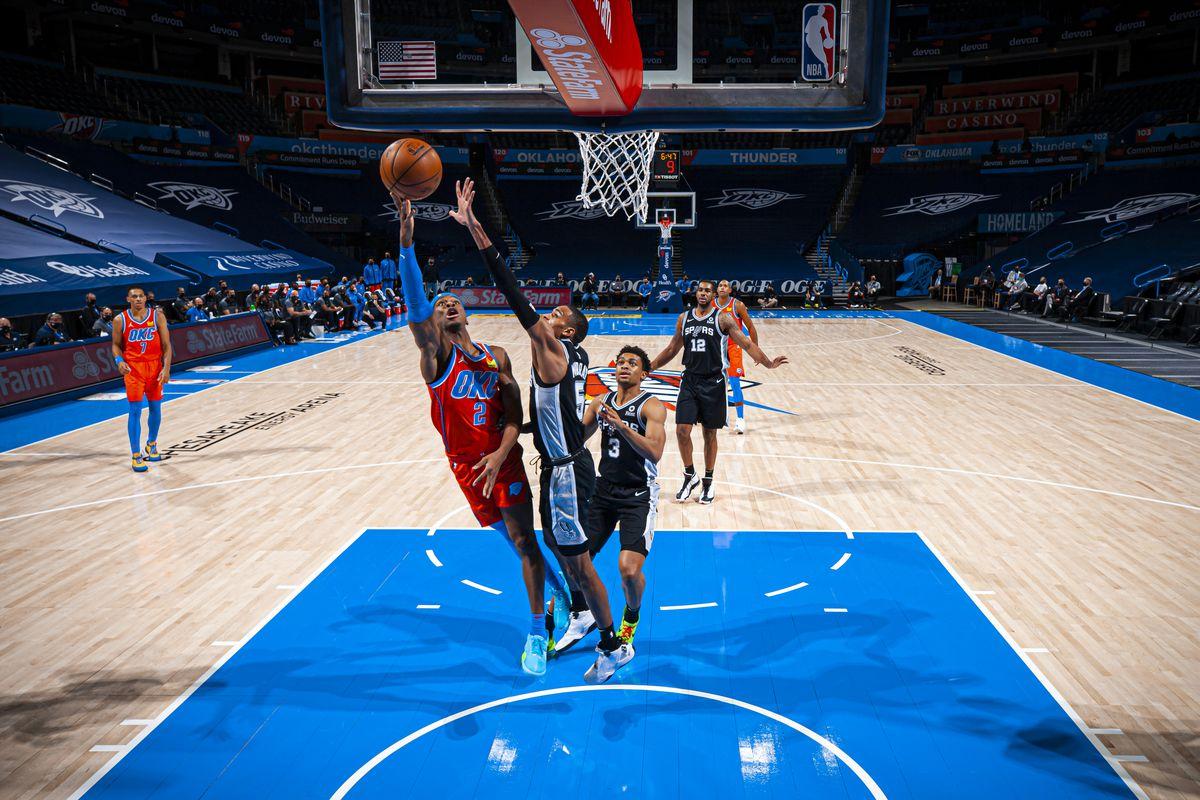 San Antonio Spurs v Oklahoma City Thunder