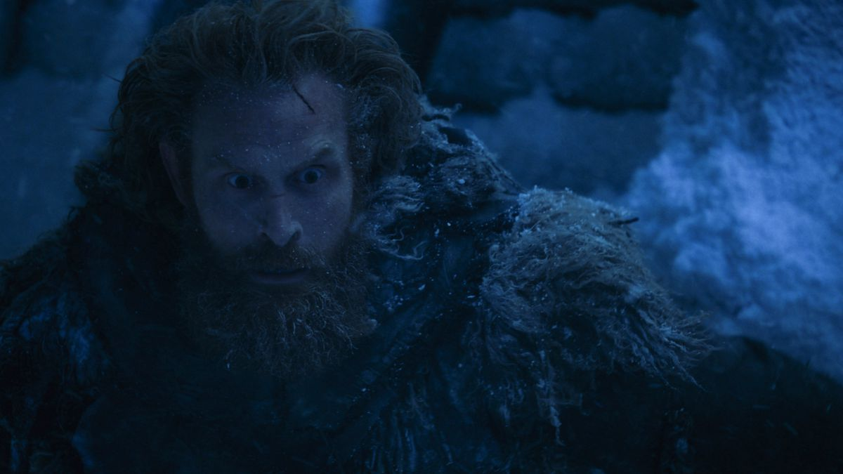 Game of Thrones 707 - Tormund sees the Night King and the Army of the Dead approaching the Wall