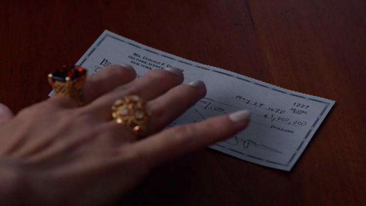Megan gets a huge check on Mad Men.