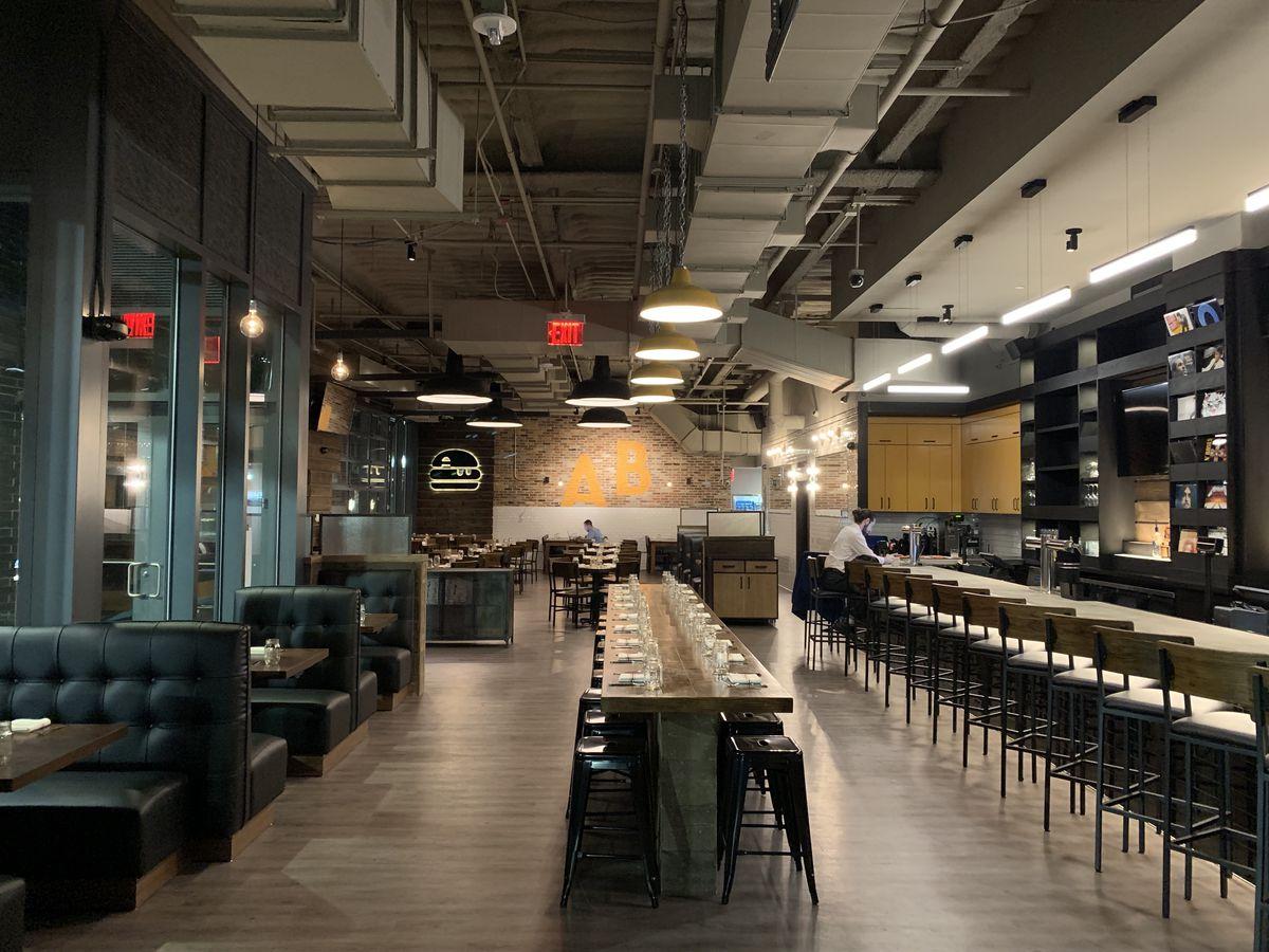 Inside Boston's A&B Burgers