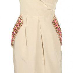 "Matthew Williamsson ""Valencia"" cotton <a href=""http://www.theoutnet.com/product/232002"" rel=""nofollow"">dress</a>. Original price $1,715; Now $257.25.<br />"