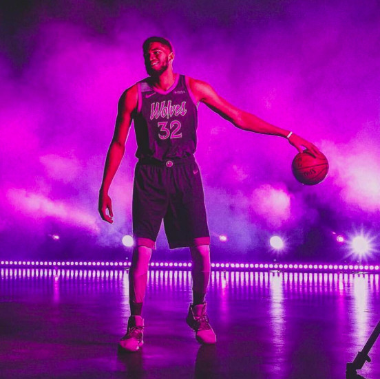 Minnesota Timberwolves New Uniforms Inspired By Prince Are