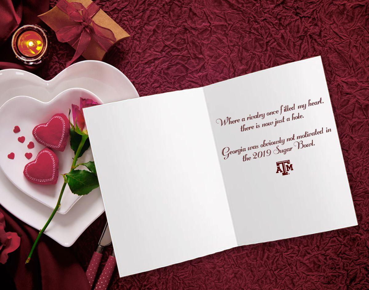 aggie valentines to longhorns