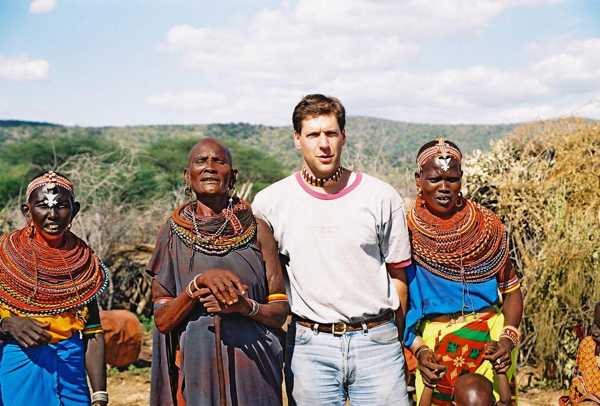 Kammen, in Kenya, with the Samburu.
