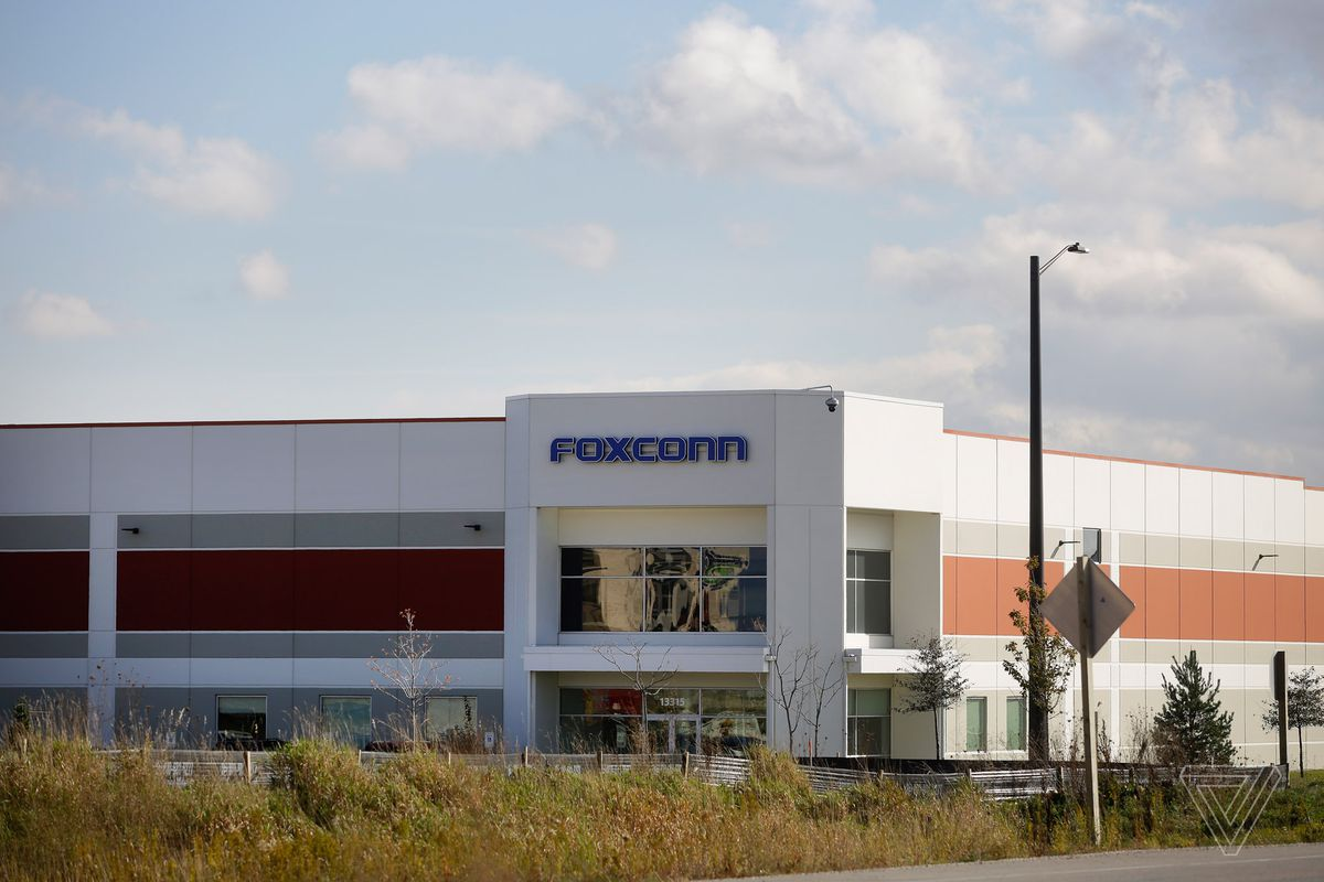 """A Foxconn """"innovation center"""" in Wisconsin"""