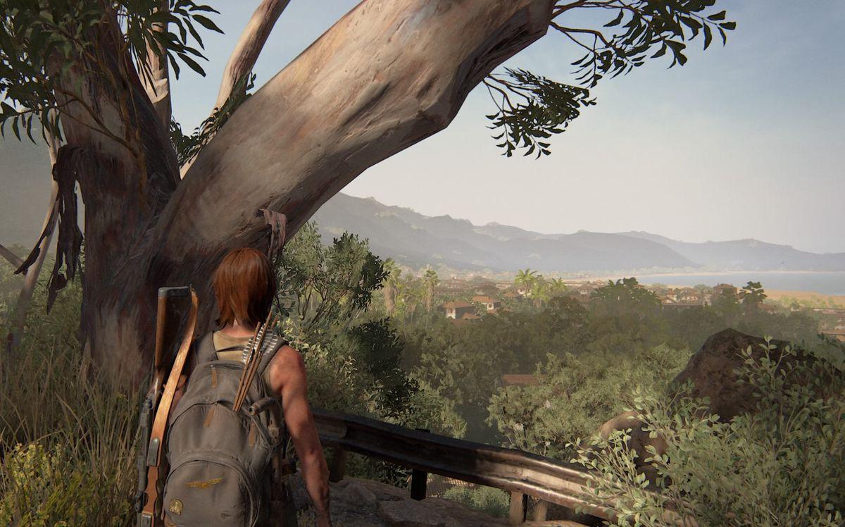 The Last of Us Part 2 Santa Barbara Pushing Inland Journal Entry