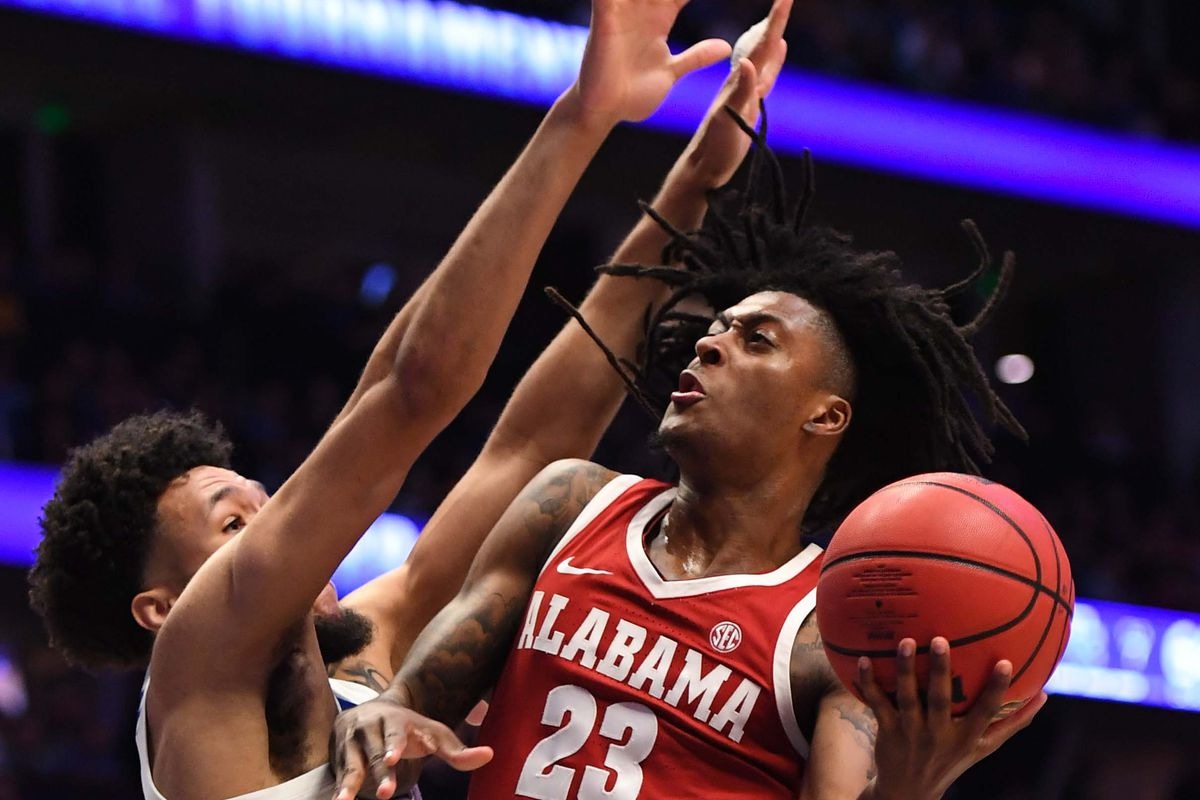 "<p zoompage-fontsize=""15"" style="""">NCAA Basketball: SEC Conference Tournament-Kentucky vs Alabama"