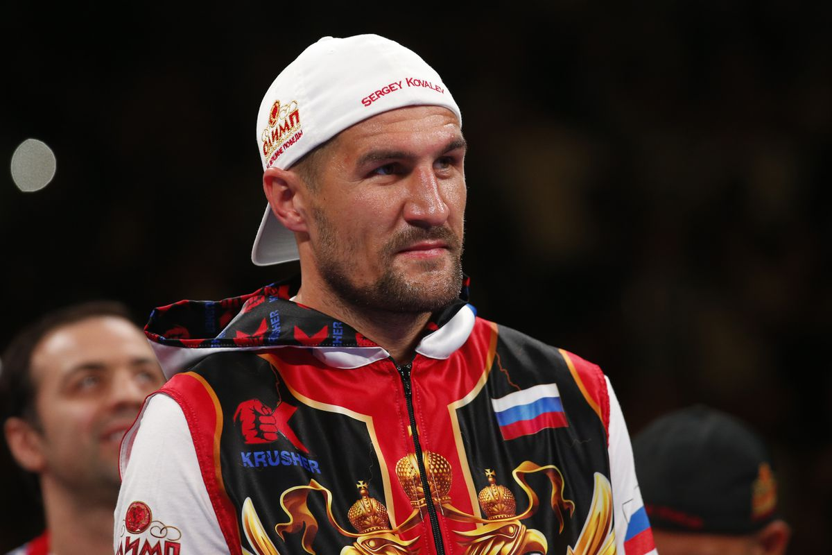 Canelo Alvarez v Sergey Kovalev