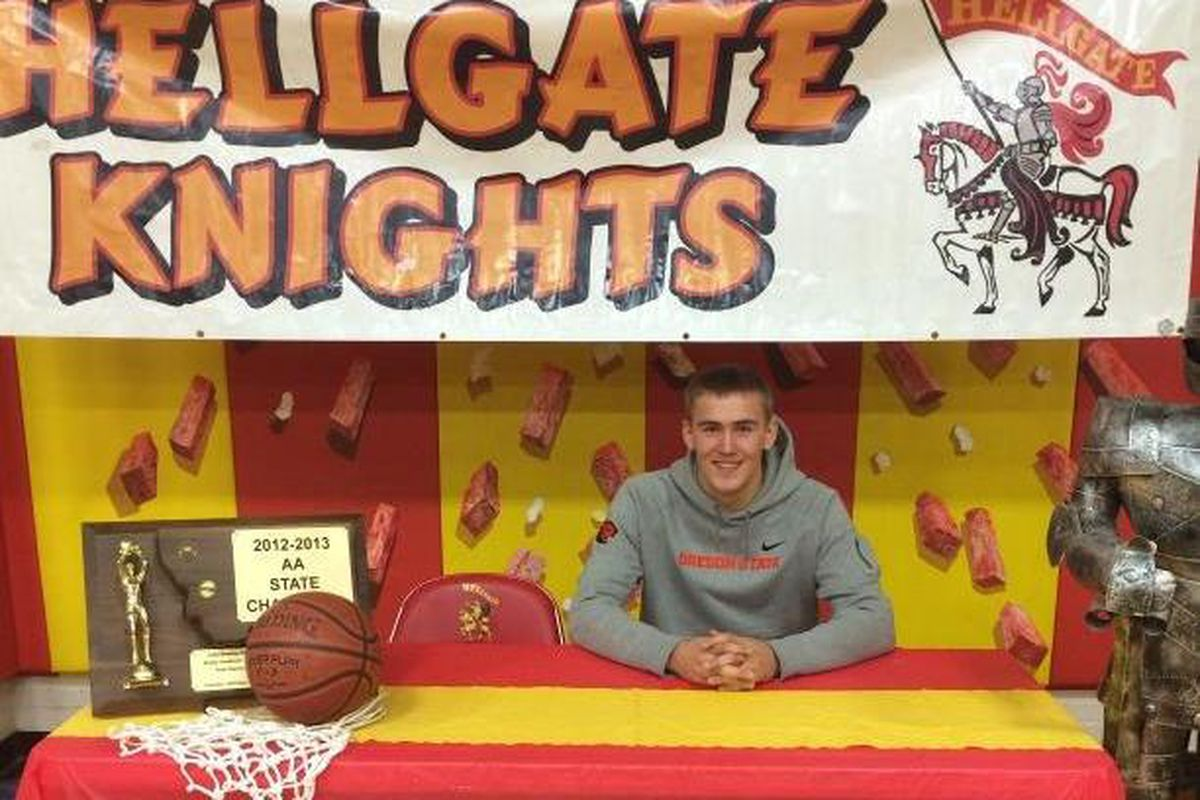 Tres Tinkle is one of a number of highly ranked recruits coming to Oregon St. next fall.