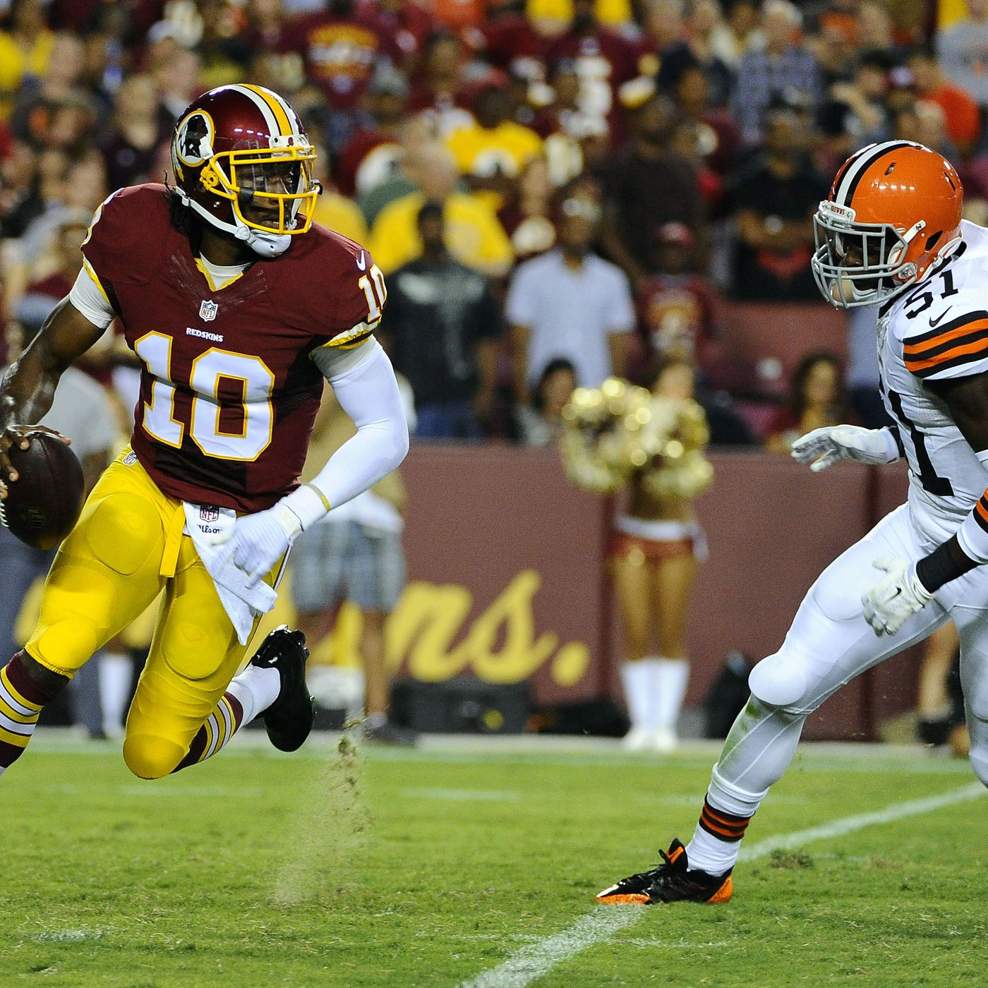 41f5ff90 Robert Griffin III is evolving, but into what? - SBNation.com