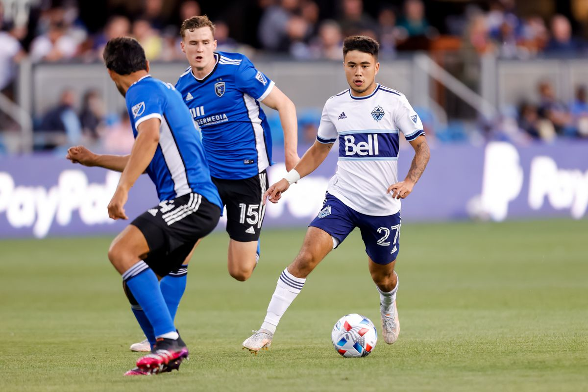 SOCCER: AUG 13 MLS - Vancouver Whitecaps at San Jose Earthquakes
