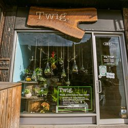 """<b>↑</b>Instead of splurging on a trendy terrarium, craft your own little environment. At <b><a href=""""http://twigterrariums.com/"""">Twig Terrariums</a></b> (287 Third Avenue), you can pick up a DIY kit or catch one of the studio's classes. If you're not in"""