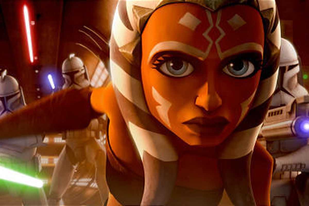 """Ahsoka Tano, the young apprentice, or padawan, of Anakin Skywalker in the animated series, """"Star Wars: the Clone Wars"""". (Lucasfilm/MCT)"""